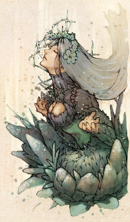 se couvrir de fleurs by Amdhuscias