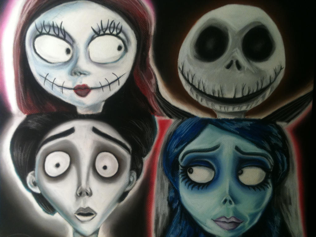 TeamCreepy Corpse Bride Nightmare Before Christmas by ...