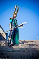 I am Loki, of Asgard. by rotschwarze