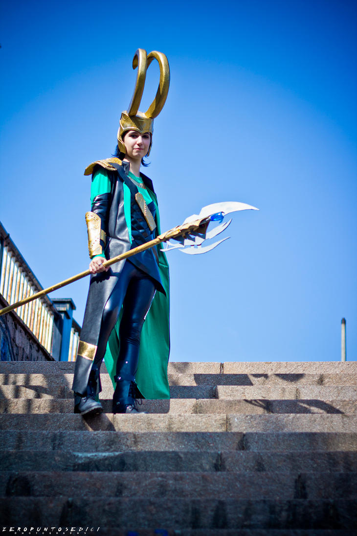 I am Loki, of Asgard. by rotschwarze