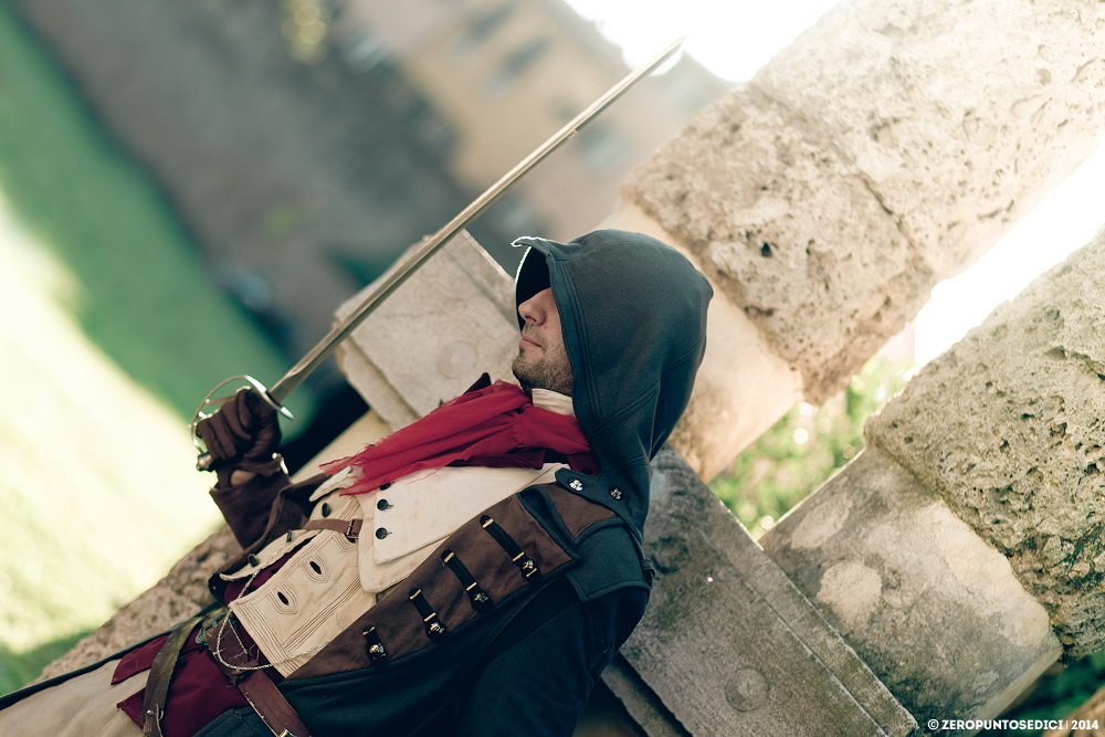 Arno Dorian - Assassin's Creed Unity by rotschwarze
