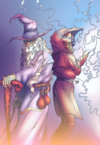 Wizards n Magicians by DJCOMIX