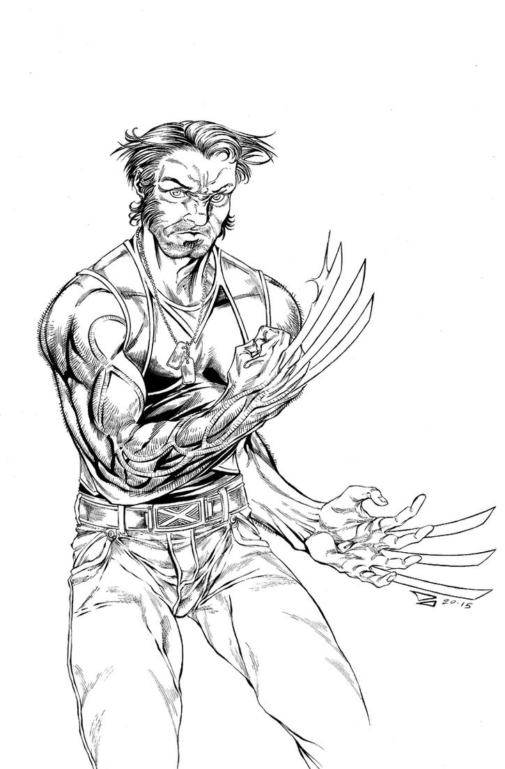 The Wolverine by DJCOMIX