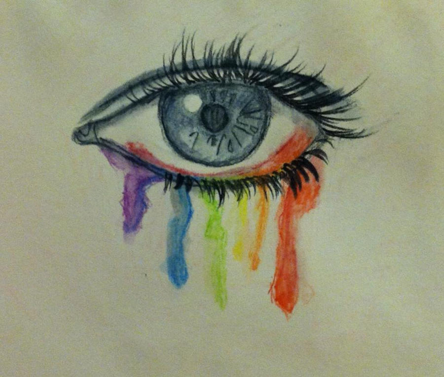 Rainbow eye by Insaneymaney