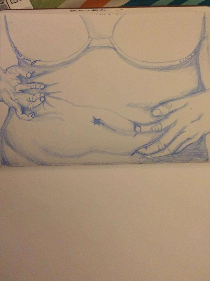 Stomach Grab by Insaneymaney