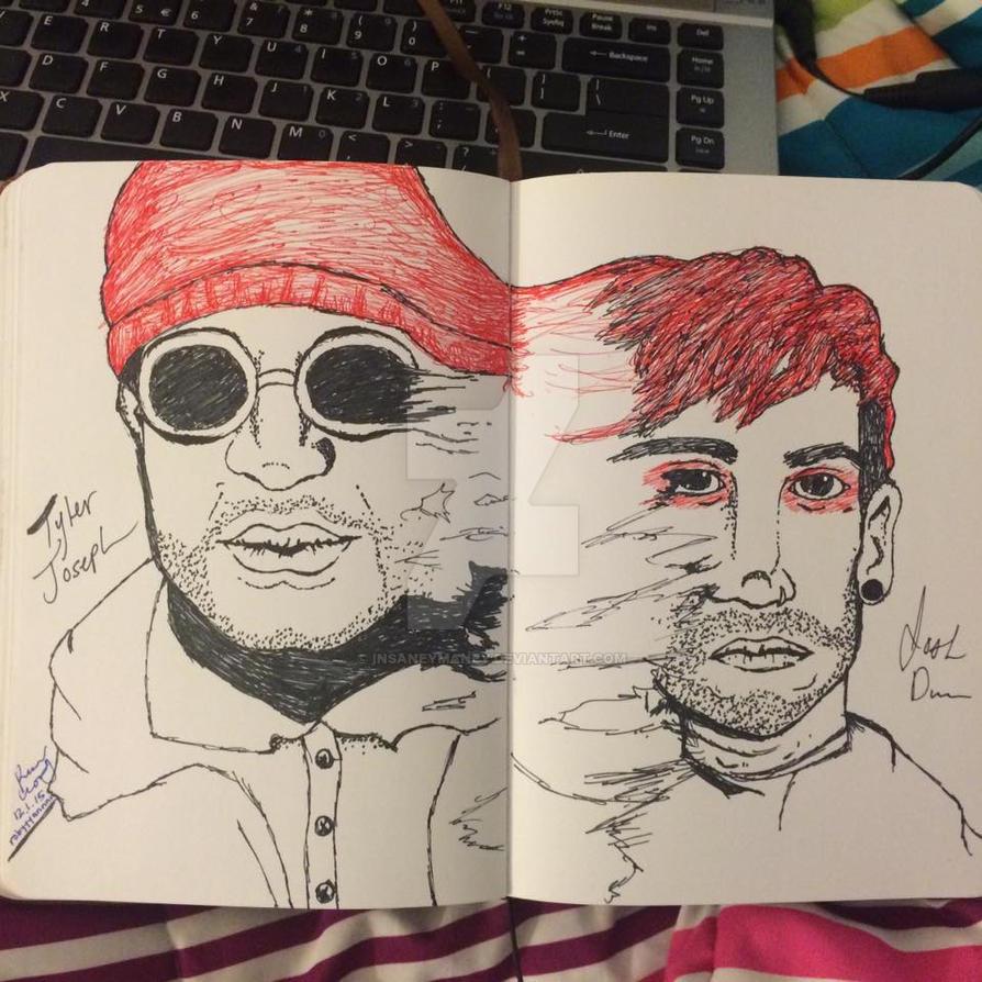 Tyler and Josh by Insaneymaney