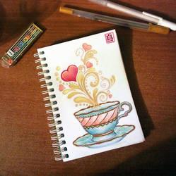 A Cup of Magic by ToRi-V