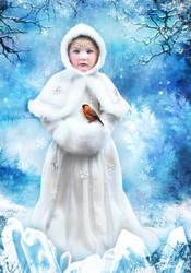 Ice Princess Portrait by ToRi-V