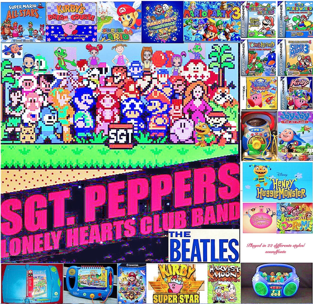 Sgt  Pepper Album (DIFFERENT SOUNDFONT STYLES!) by smochdar on