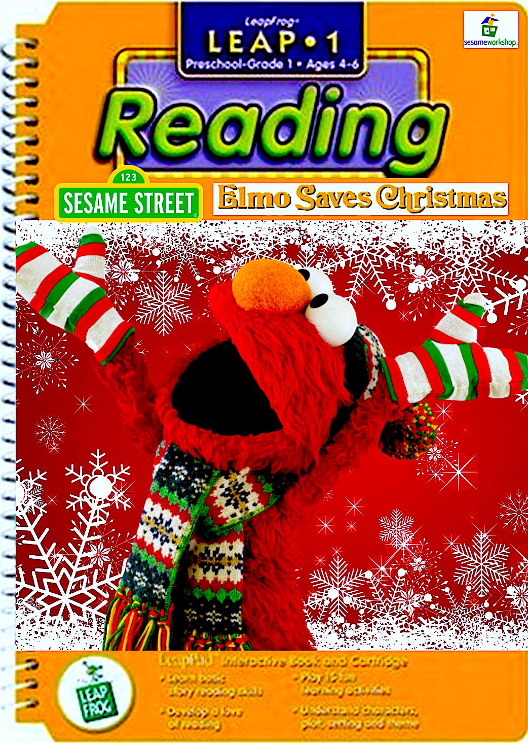 Elmo Saves Christmas.Unused Leappad Games Elmo Saves Christmas By Smochdar On