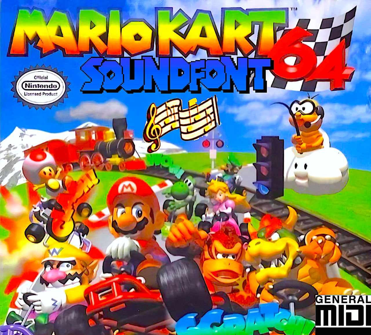 Mario Kart 64 Soundfont Official By Smochdar On Deviantart