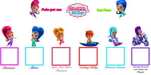 Make Your Own Shimmer and Shine Cast Meme