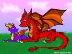 Spyro and Ignitus..