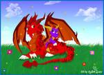 Ignitus and Spyro..