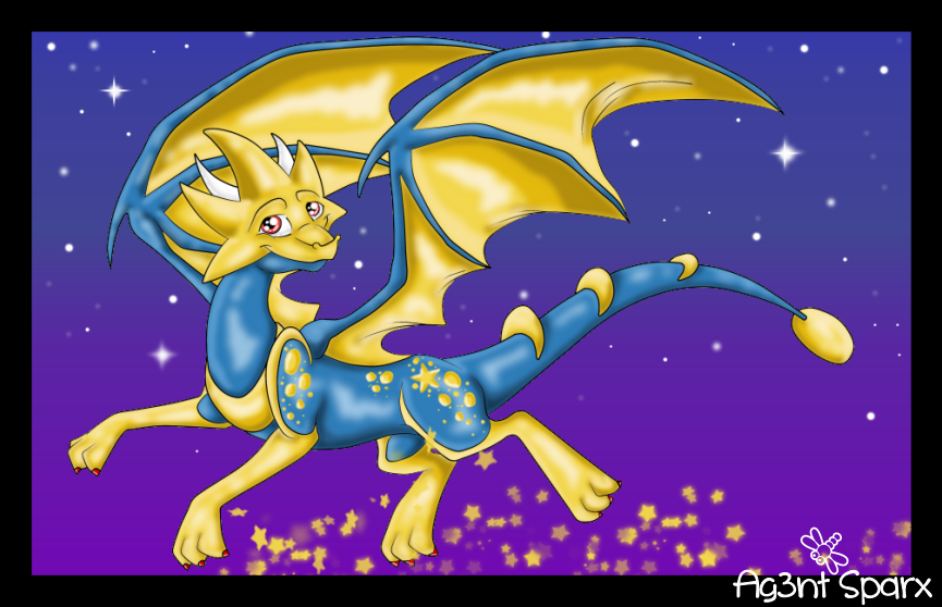Star Dragon from DC! :D by Ag3nt-Sparx on DeviantArt