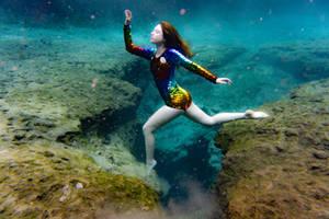 Space mermaid by astridkallsen