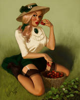 Strawberry Bandit - Eva - June