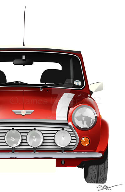 Mini Cooper by Jimtheartist