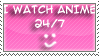 Anime 24-7 stamp by Miho-Nosaka-stamps
