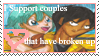 Ex Couples fan stamp by Miho-Nosaka-stamps