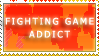 Fighting Game stamp by Miho-Nosaka-stamps