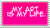 My Art is my life by Miho-Nosaka-stamps