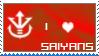 Saiyans stamp