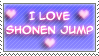 Shonen Jump stamp by Miho-Nosaka-stamps