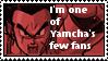 I'm Yamcha's fan stamp by Miho-Nosaka-stamps