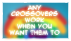 Any Crossovers Work Stamp by Miho-Nosaka-stamps