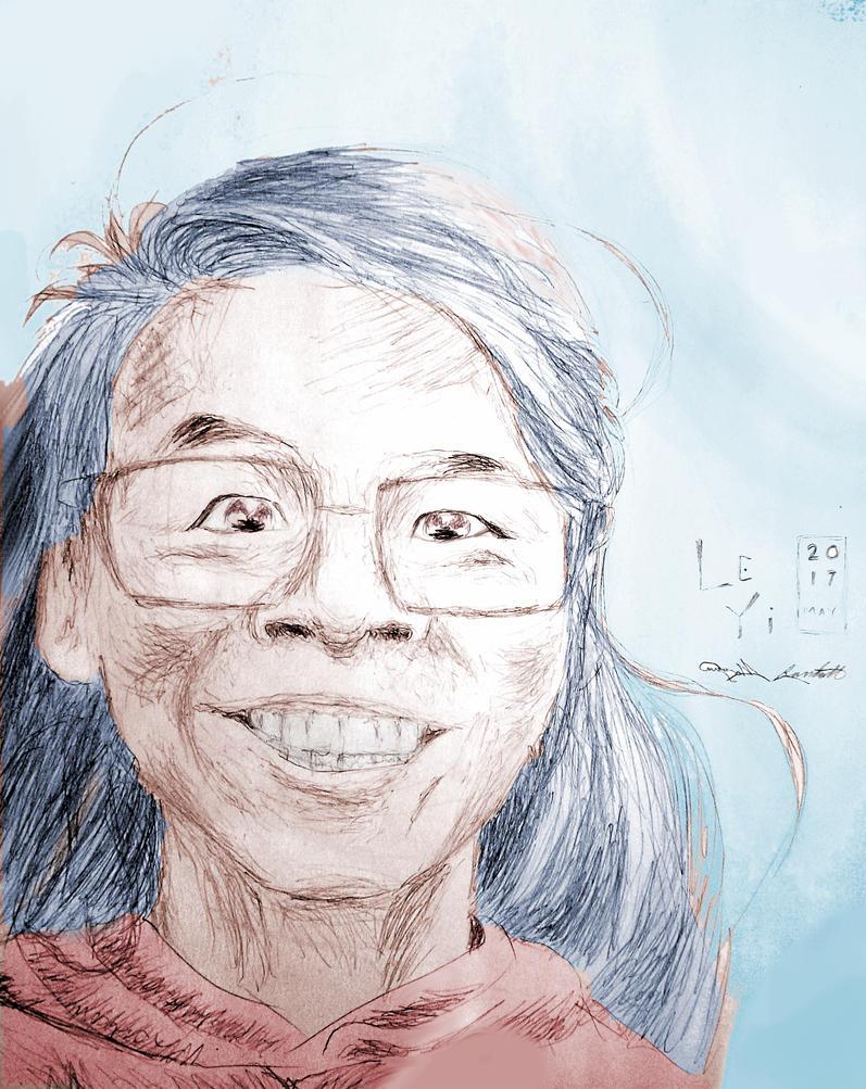 Le Yi by OshunHoneyComic