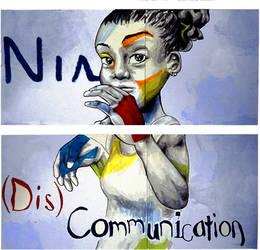 Nia--(Dis)Communication Poster