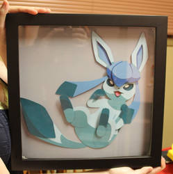Glaceon - Shadow Box