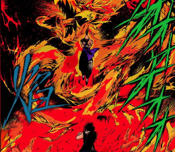 Flame Of Recca Arcs: Flame Of Recca- Homura Summon By S-Ranma On DeviantArt