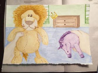 The Lion and the Unicorn, Illustration class