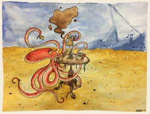 Octopus Tea Party
