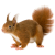 Squirrel icon.3 by RedqueenAllison