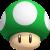 1-Up Mushroom icon by RedqueenAllison