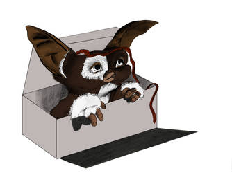 Gremlin in a box by Kerropi