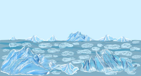 Ice world Badass Pinguin Ludum dare 29 by Kerropi