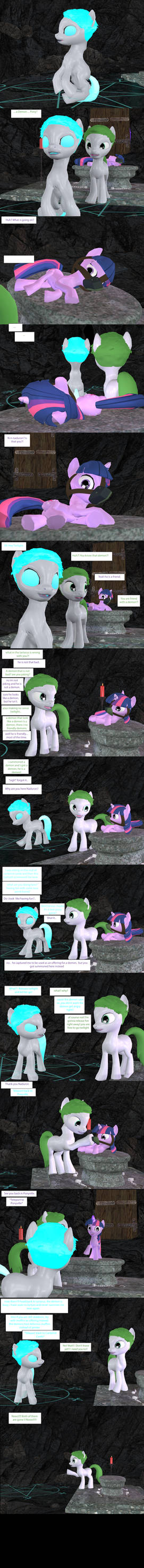 TAEE - Demon Summoning (Page 02/02 END)[3D Comic]