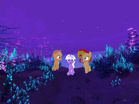 My Little Pony - Alien Planet Glise 09 [Poser]