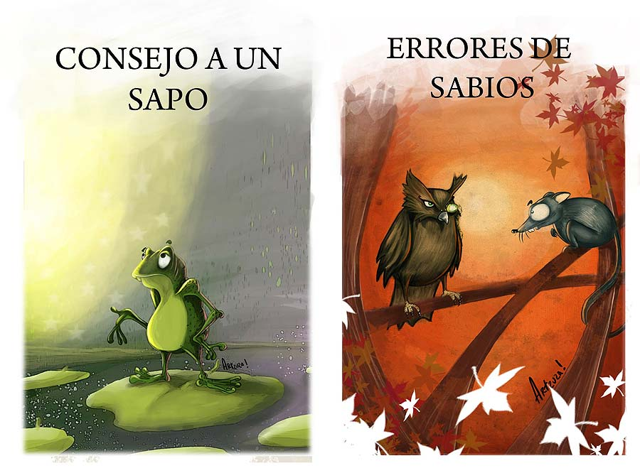 ilustracion cuento infantil by Arzuza