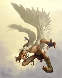 Ikarus Angel Collab