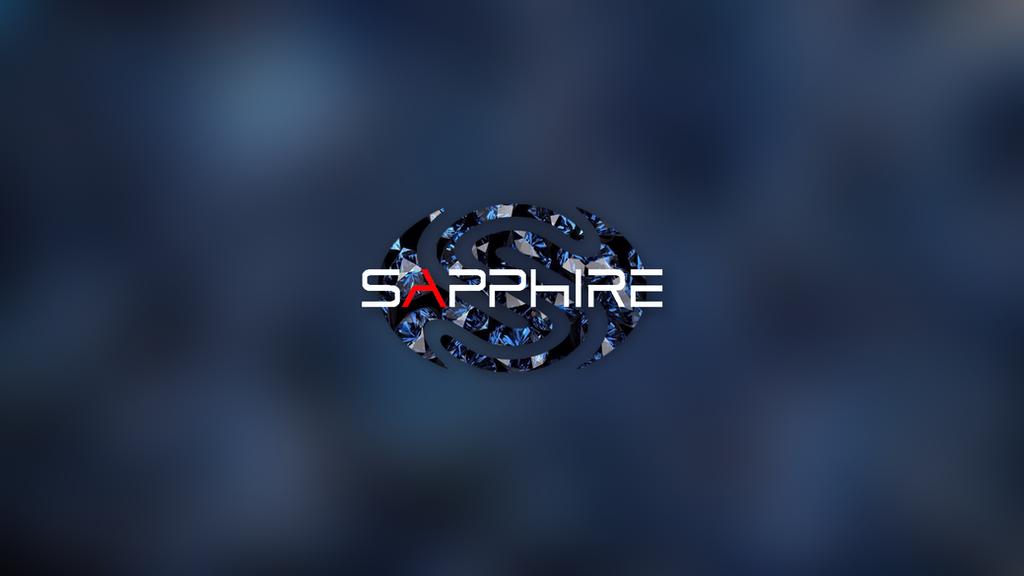 4k sapphire technology wallpaper by luxie5474 on deviantart - Sapphire wallpaper ...