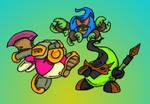 Gumdrop Knights: Trio