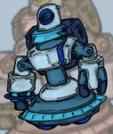 Starry Knight Jovian Robot