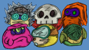 GDT Rogues Gallery by MadGoblin
