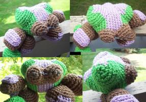 Crochet Gumdrop Troop by MadGoblin