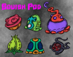 Unreleased Squish Pod by MadGoblin